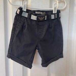 Armani Baby Shorts and Belt
